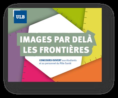 """logo du concours photo """"Images par delà les frontières"""" organisé par le Pôle Santé"""
