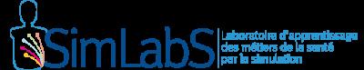 logo du SimLabS laboratoire d'apprentissage par la simulation crée par l'ULB-Pôle Santé